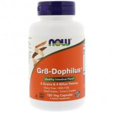 Probiotics, Gr8-Dophilus, Now Foods, 120 Capsules, 22444