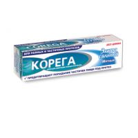 Extra Strong Mint Cream for Fixing Dentures, Corega, 40 g, 27529