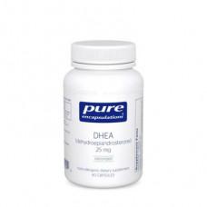 DHEA, DHEA, Pure Encapsulations, 25 mg, 60 Capsules, 30376