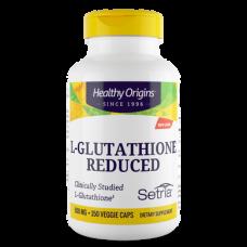Glutathione, L-Glutathione, Healthy Origins, Setria, Reduced, 500 mg, 150 Capsules, 31426
