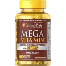Women's 55+ Multivitamin & Mineral, Women Over 55, MegaFood, 1 Daily, 60 Tablets, 31439