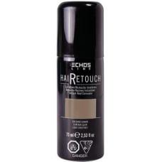 Spray for painting gray hair, Echosline, 75 ml - BLACK, 32516