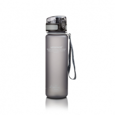 Water bottle, gray, UZspace, 500 ml, z01696