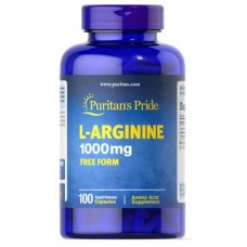 L-Arginine, L-Arginine, Puritans Pride, 1000 mg, 100 Capsules, Z05753