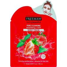Pore Cleansing Sheet Mask, Freeman, 25 ml, Z08720