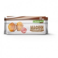 Muffin with creamy chocolate filling (sugar free), PowerPro, 70 g, Z09992