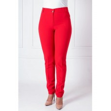 Fashionable Red Adrian Trousers For Women (SZ-1245)