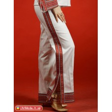 Embroidered trousers (sh-10)