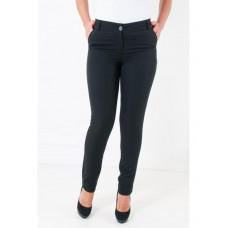 Black business trousers