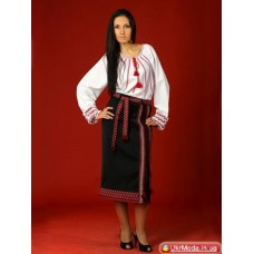 Embroidered classic women's suit (gk-20)