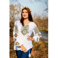 Beautiful embroidered shirt for women with long sleeves (GNM-02185)