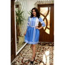 Delicate Ukrainian embroidered costume for women and teenagers (GNM-02084)